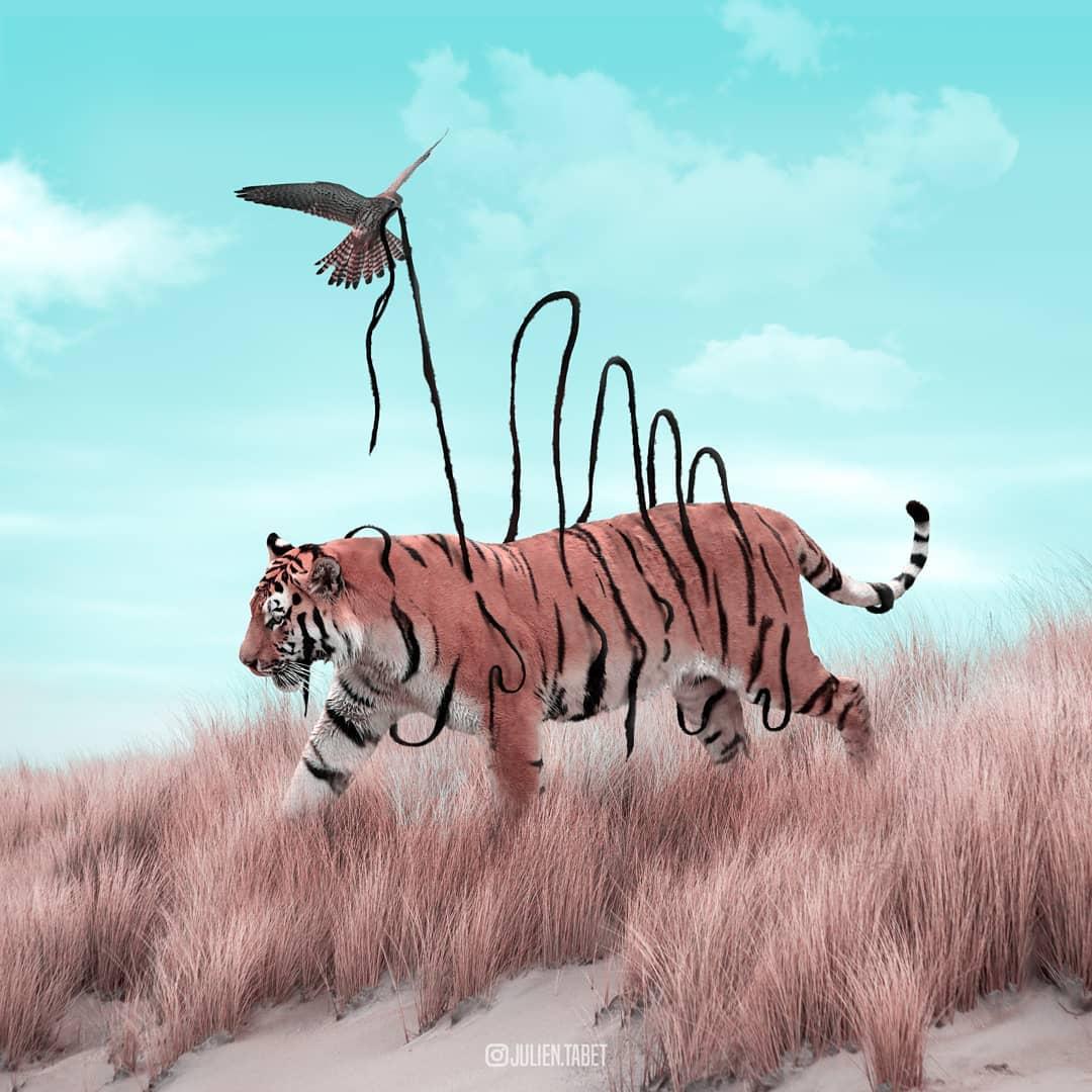 Цифровой художник из Франции изображает сюрреалистичных животных, которые будто пришли из наших снов
