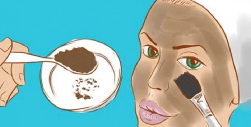 Маска для лица, убирающая морщины и отёки под глазами