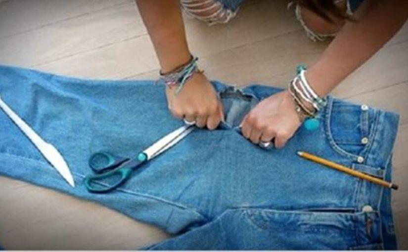 25 идей: что сделать со старыми джинсами