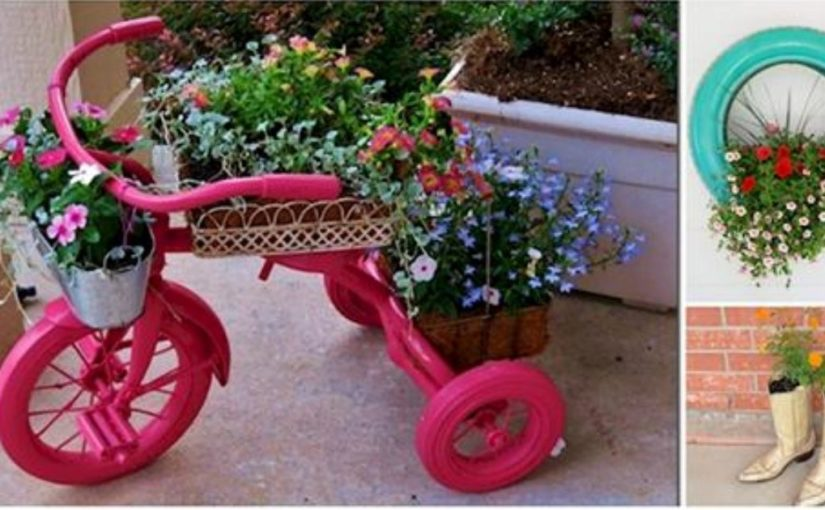 15 оригинальных цветочных горшков