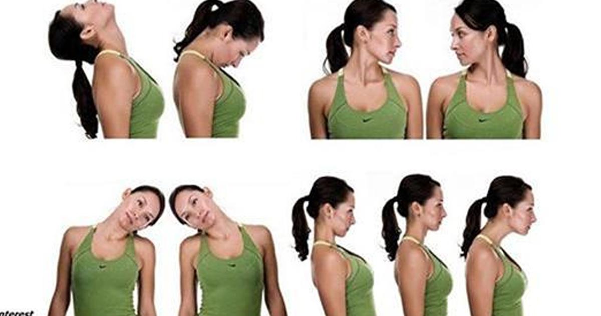 8 упражнений для здоровой шеи: обьяснение и фотоинструкция