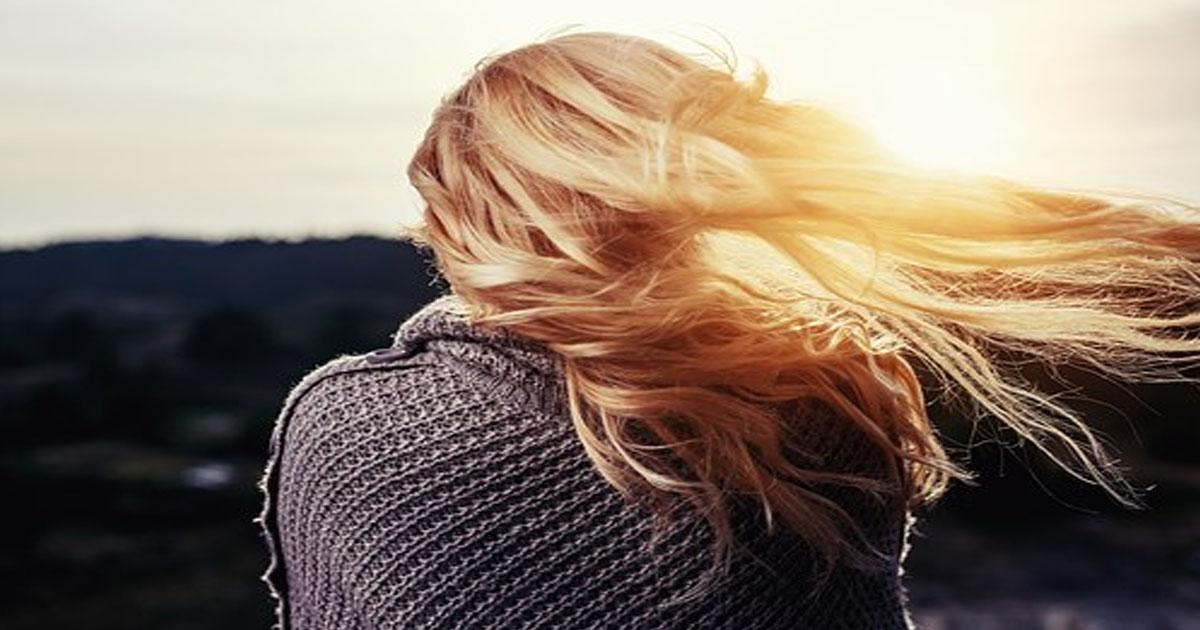 Простой рецепт для блеска волос