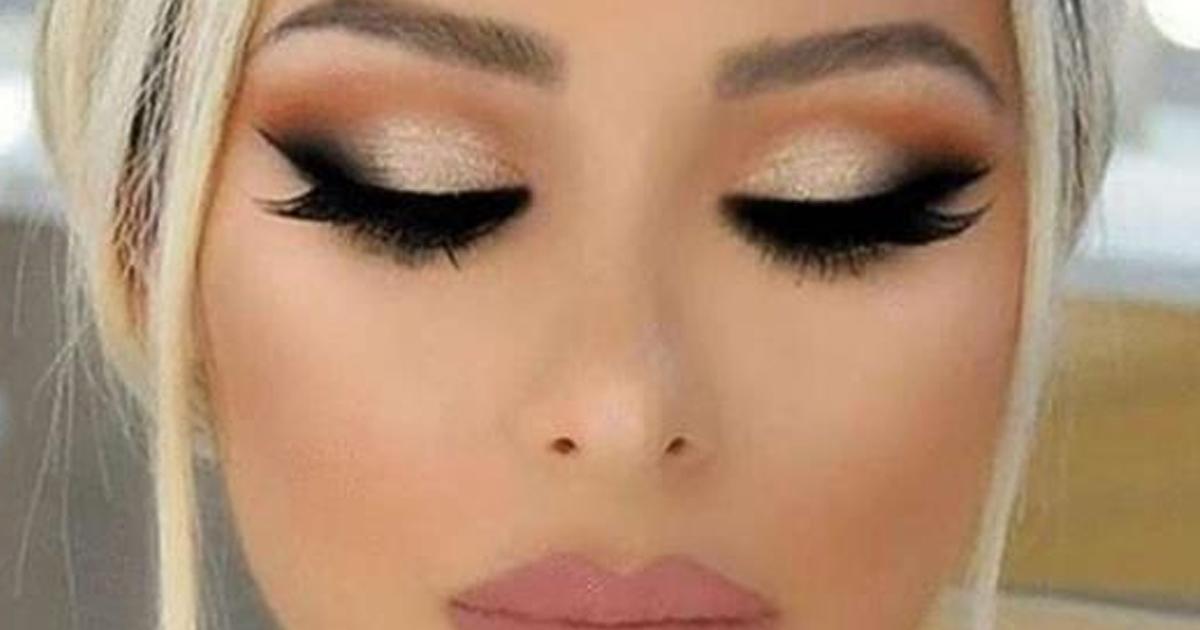 15 потрясающих вариантов темного макияжа глаз