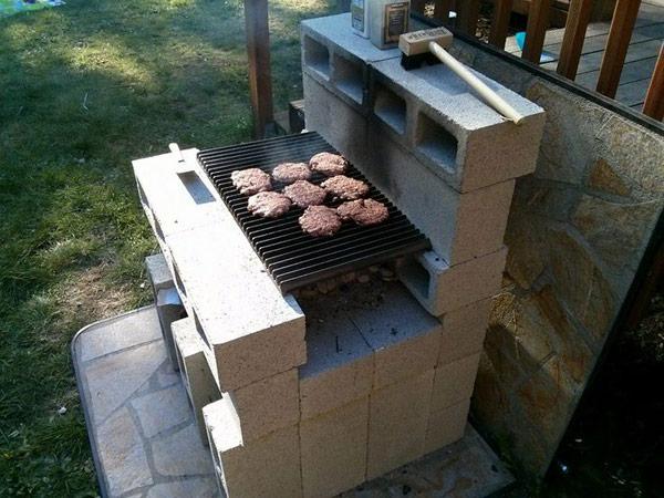Идеи барбекю в дачном дворике