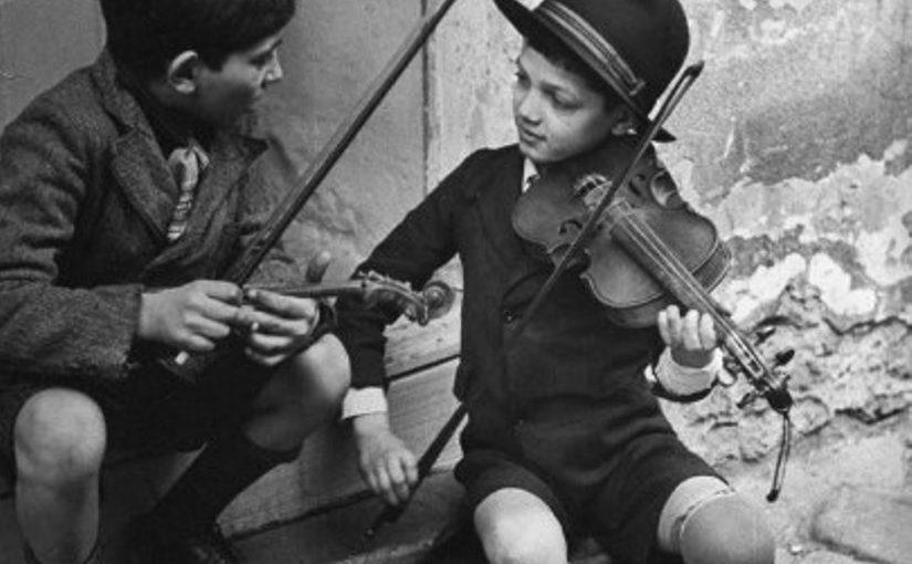 Мудрая притча о том, почему еврейские мальчики учатся играть на скрипке