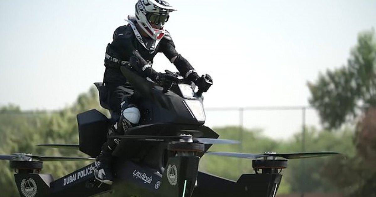 Новое приобретение полиции Дубаи, на котором скоро она будет патрулировать улицы