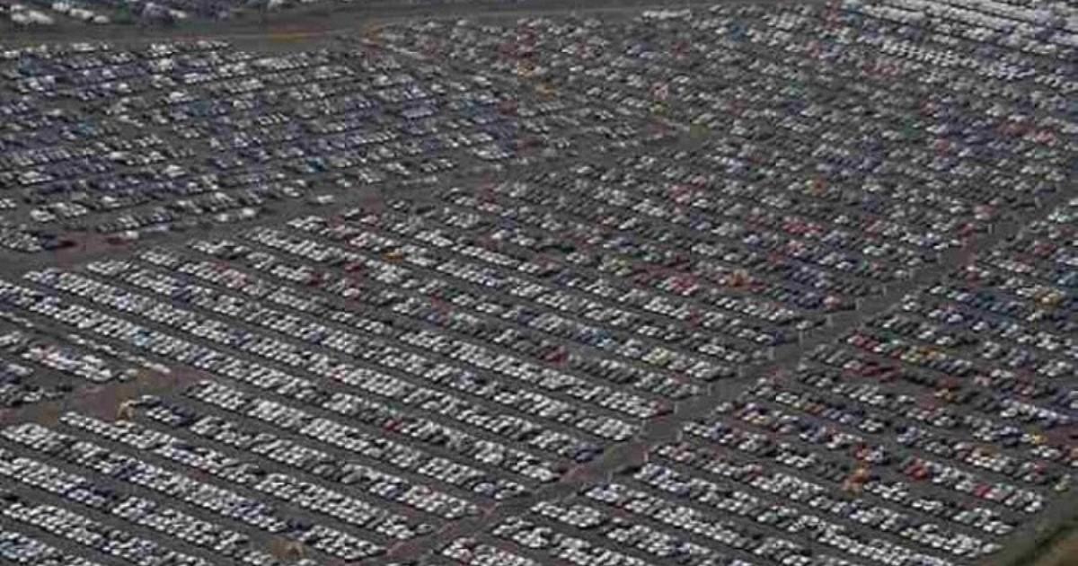 Интересно: места, куда деваются непроданные автомобили
