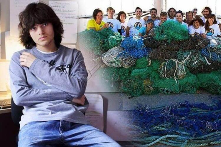 Гениальный парень из Нидерландов придумал способ очищения океана от мусора