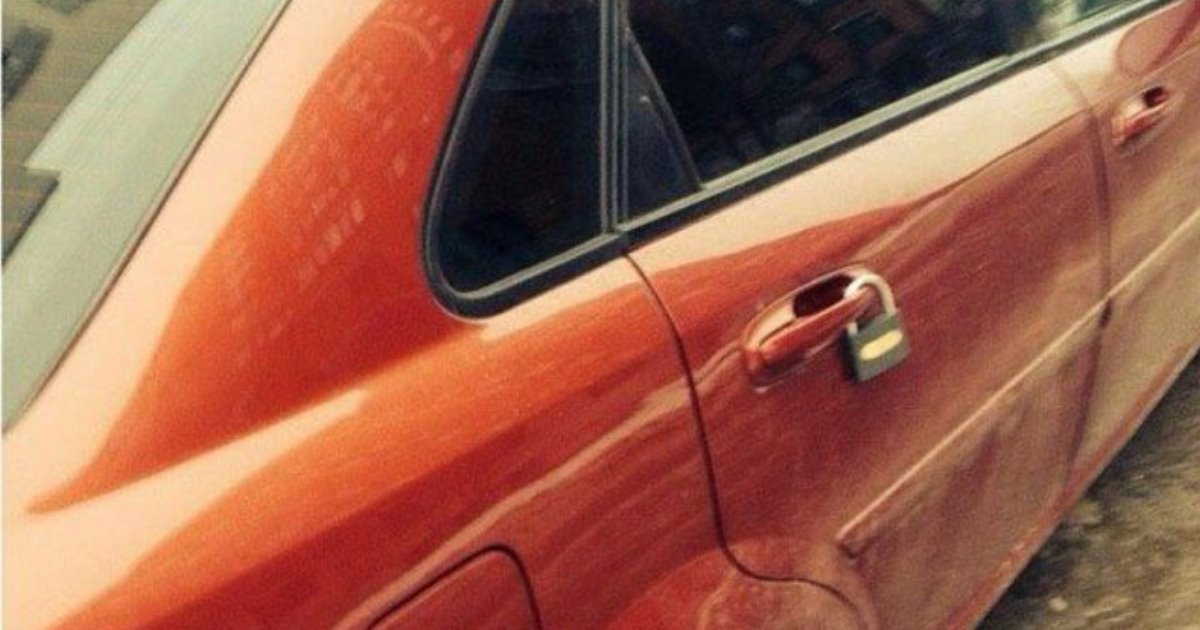 Совет, что делать, если на машине появился лишний замок