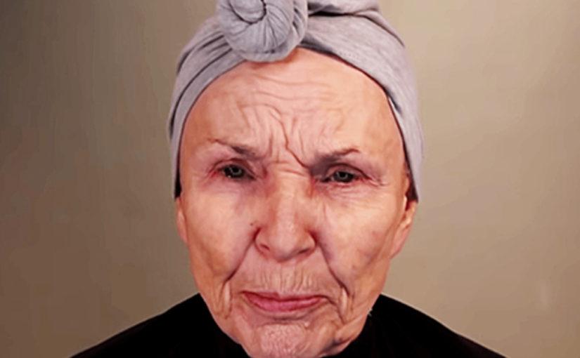 80-яя женщина красится лучше визажистов. За 7 дней её ролик с макияжем набрал больше миллиона просмотров