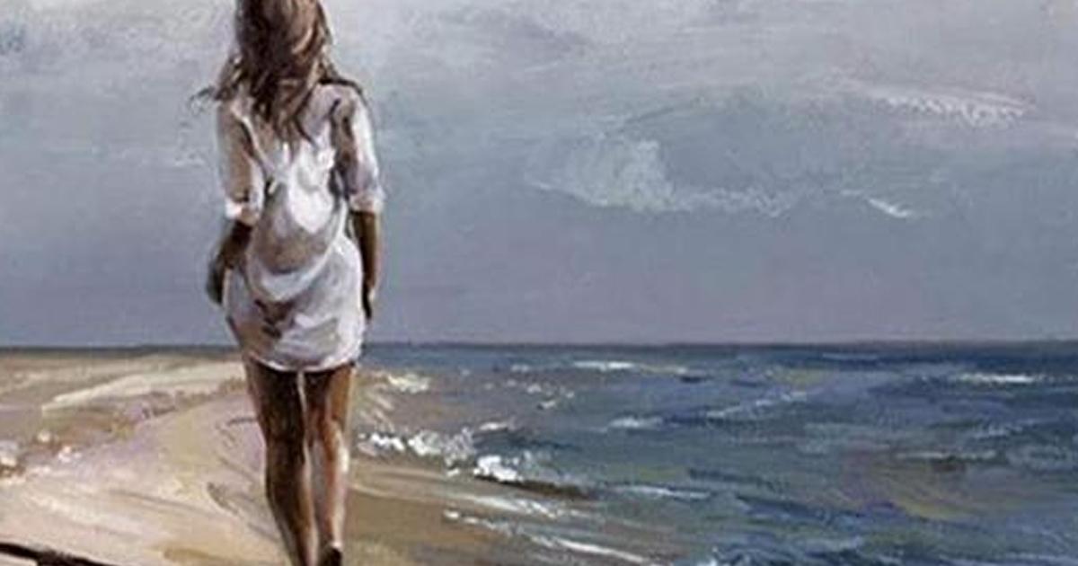 Чудесное стихотворение «Та женщина, которая ушла»