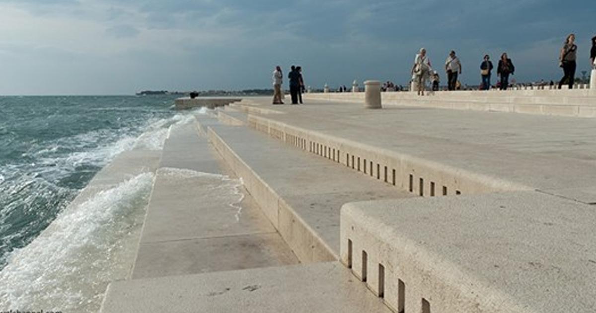 80-метровый орган для игры моря и ветра: видео