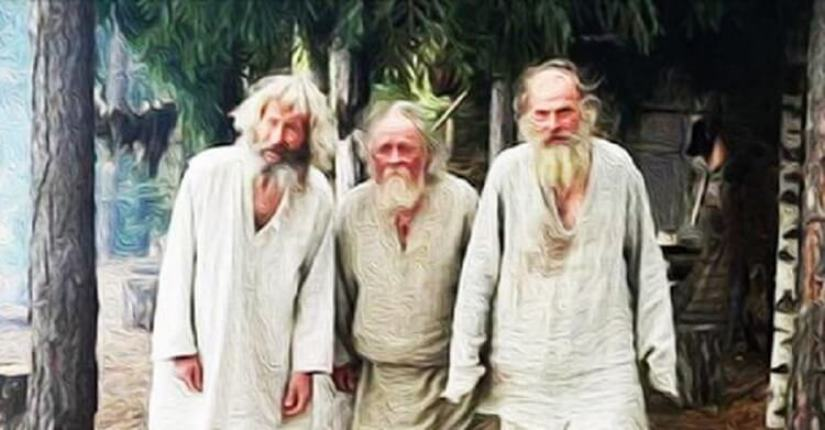Мудрая притча о трёх старцах