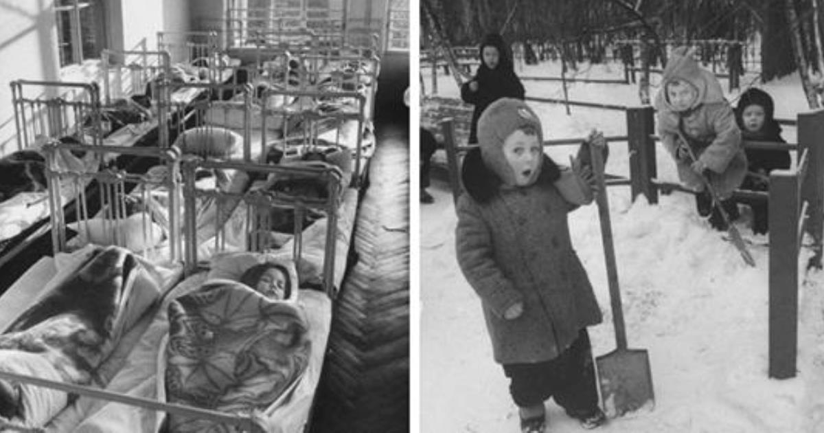 16 фотографий обычного детского садика в СССР