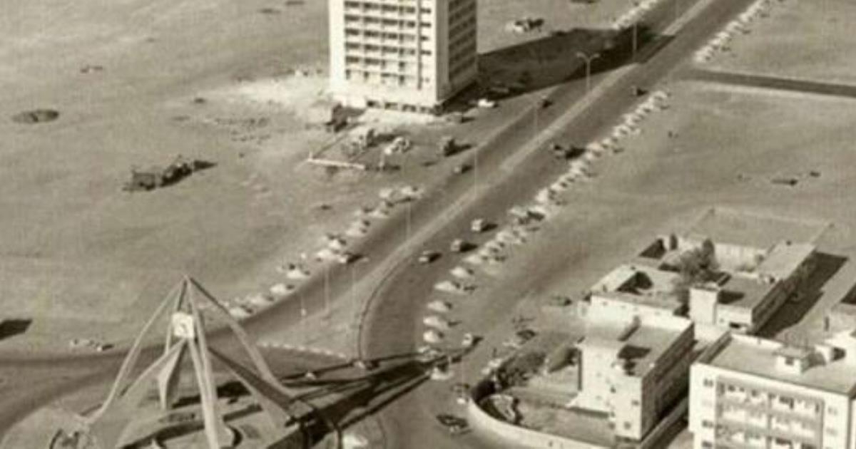 Подборка фотографий, как выглядел Дубаи до того, как стал процветать