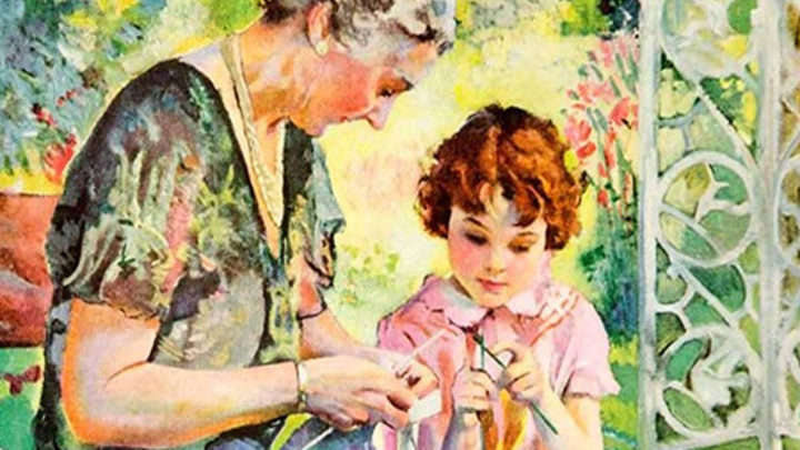 О любви между бабушкой и внучкой и её силе