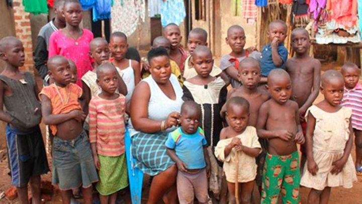 Рассказ об удивительной женщине, у которой 38 детей и которую бросил муж