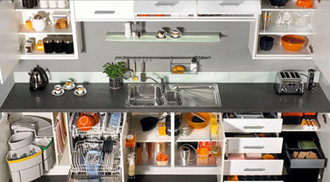 28 классных идей хранения вещей на кухне