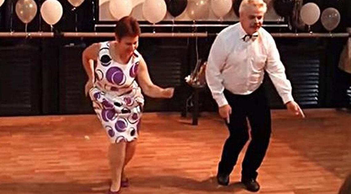 Невероятное видео танца пары в возрасте