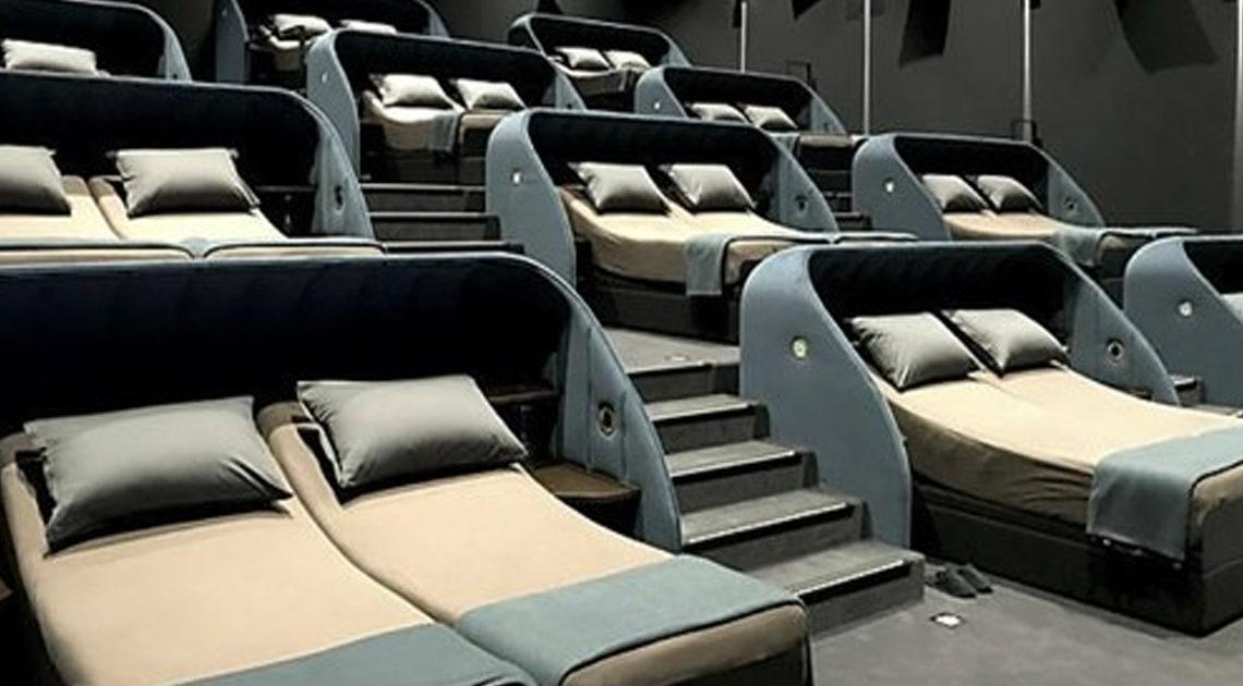 О швейцарском кинотеатре с кроватями