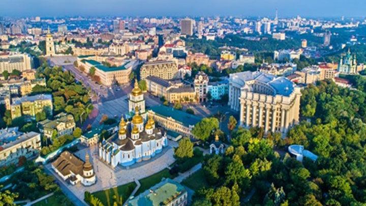 Киев попал в десятку городов с самыми красивыми видами