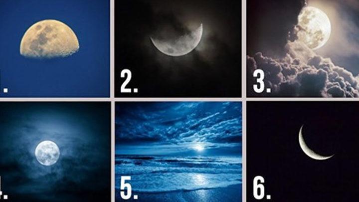 Тест: выберите Луну и узнайте про себя кое-что интересненькое